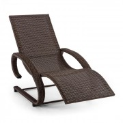 Blumfeldt Daybreak, leagăn pentru relaxare, salon tip consolă maro, aluminiu, polyatan (GDW9-Daybreak-BR)