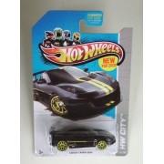 Lotus Evora GT4 (Black) Diecast Car (Hot Wheels)(2012) by Hot Wheels