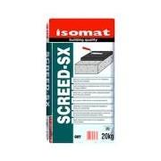 ISOMAT SCREED-SX, 20 kg, Mortar-liant, cu priza rapida, pentru prepararea sapelor de ciment pentru pardoseli