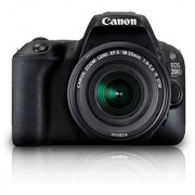 Canon EOS 200D DSLR Camera with EF-S 18-55mm IS STM Lens