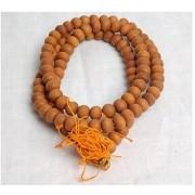 J F Red Sandalwood Prayer Mala Hindu Japa Mala Meditation Rosary Lal Chandan By UBB