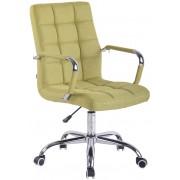 CLP Sedia Ufficio Deli in Tessuto, verde , verde, altezza seduta