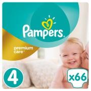 Pampers Premium Care Pelene 4 Maxi - 66