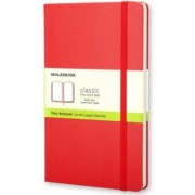 Moleskine: Zápisník tvrdý čistý červený S