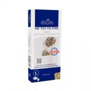 Finum filtry do herbaty L 100 szt. białe