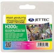 HP 300 (CC643EE) Tri-colour Ink Cartridge with Vivera Inks, 4ml, HP Deskjet D2560 - jc h300c 7017