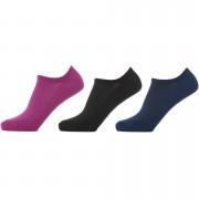 Myprotein Dames Trainer Sokken - UK 3-6 - Black/Violet/Navy