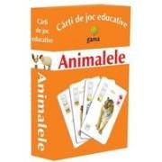Carti de joc educative - Animalele.