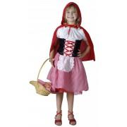Vegaoo Rödluva - utklädnad barn 122/134 (7-9 år)