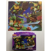Kids Puzzles: 48 Piece Ninja Turtles Themed Childrens Jigsaw Puzzle For Toddlers Age 3 And Up