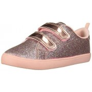 Carter's Girls Darla Casual Sneaker with Double Adjustable Strap, Multi, 7 M US Toddler