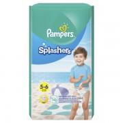 Pampers pelene gaćice za vodu Splashers S5, 10 komada