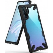 Husa Huawei P30 Pro Ringke FUSION X Transparent Negru