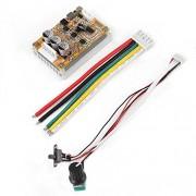 Keenso Controlador de motor sin escobillas CC, 5V-36V 350W Controlador de motores sin escobillas DC, placa de controlador PWM con cable