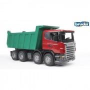 Bruder camion ribaltabile scania r-series 3550