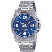Casio Enticer Analog Blue Dial Mens Watch - MTP-1314D-2AVDF (A551)