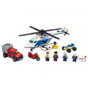Lego Конструктор Lego City Погоня на полицейском вертолёте 60243