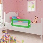 vidaXL Toddler Safety Bed Rail 102 x 42 cm Green