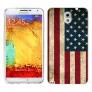 Husa Samsung Galaxy Note 3 N9000 N9005 Silicon Gel Tpu Model USA Flag