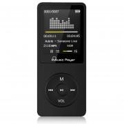 EH Reproductor de MP3 portátil 8GB de Música Radio FM