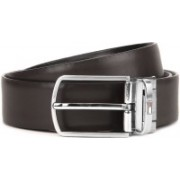 Tommy Hilfiger Men Brown, Black Reversible Belt