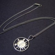 Chain Steel with Pendant 60 cm
