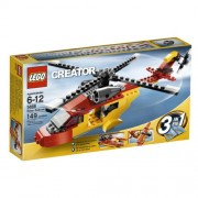 Lego Creator Rotor Rescue 3-In-1 Helicopter/Biplane/Speedboat 149 Piece Set