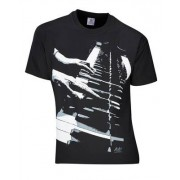 Rock You T-Shirt Piano Hands Lizenz M