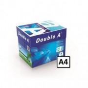 Hartie copiator A4 Double A 80g/mp 500 coli/top 5 topuri/cutie