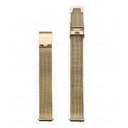 CLUSE Horlogebandjes Strap 12 mm Mesh Gold Plated Goudkleurig