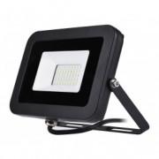 COMMEL LED reflektor 30W 6500K, 2400lm 25kh, crni C306-235