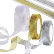 DIY Crafts Organza Ribbon for Gift Wrapping Party Decoration in Christmas Birthday and Wedding (3pcs)