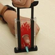 Magicians Finger Chopper Magically Cuts Cigarette Etc Chopping Blade Magic Trick