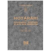 Hotărâri ale Guvernului României şi alte acte normative.