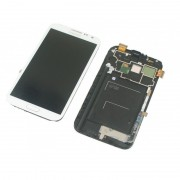 Ecran Complet Lcd + Tactile + Chassis Samsung Galaxy Note 2 N7105 4g - Blanc