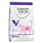 3кг Renal Concept For Life Veterinary Diet, суха храна за котки