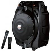 Boxa portabila activa Akai SS022A-X6, bluetooth, 30 W, radio FM, negru