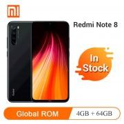 Xiaomi Redmi Note 8 64GB 4GB Global Versión -Negro