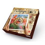 Набор для творчества Decoupage clock с рамкой Часы