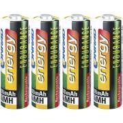 Set 4 acumulatori NiMH, AA, 1,2 V, 2600 mAh, Conrad energy Endurance