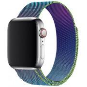 4wrist Ocelový milánský tah pro Apple Watch - Vícebarevný 38/40 mm