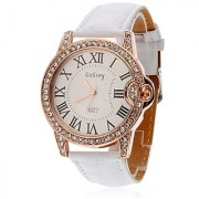 WomenS Watch Circle High Quality Automatic White- AELKCP002