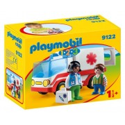 1.2.3. AMBULANTA SI ECHIPAJUL DE SALVARE - PLAYMOBIL (PM9122)