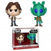 Vynl. Star Wars Han Solo and Greedo Vynl.
