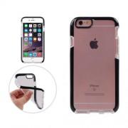 Iphone 6 Plus & 6s Plus Coque Protection Tpu Transparent Blanc Noir