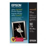 HARTIE CERNEALA EPSON ULTRA GLOSSY 50COLI 10X15 300G/MP C13S041943
