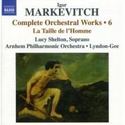 I. Markevitch - La Taille De L'homme (0747313215676) (1 CD)