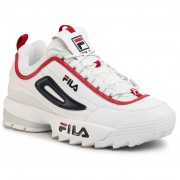 Сникърси FILA - Disruptor Cb Low 1010707.92N White/Fila Navy/Fila Red