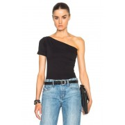 Helmut Lang Asymmetrical Tee in Black. - size XS (also in L,M,S)