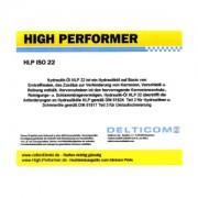 High Performer HLP ISO VG 22 Hydrauliköl 208 Liter Fass